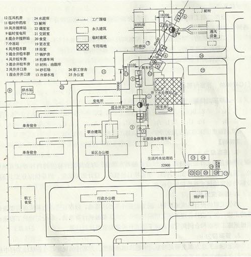在进行工业场地平面布置时,施工单位为了便于炸药库的管理和炸药安全