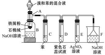写出A中所发生反应的化学方程式(有机物写结构简式):_________