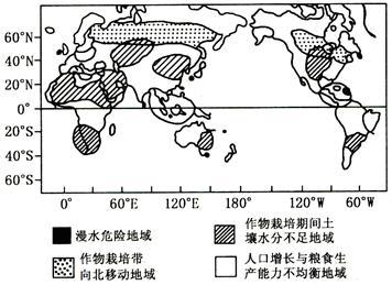 读全球气候变化影响图