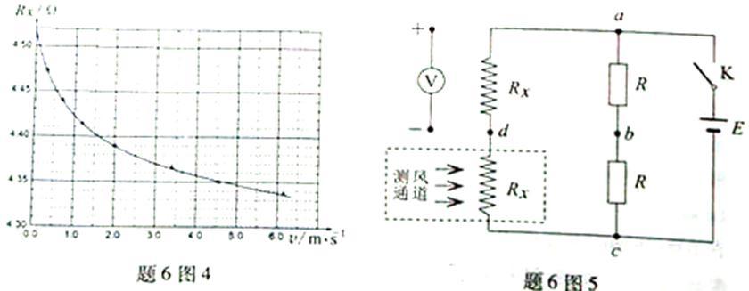 """示数也从零开始增加,则电压表的"""" """"端和""""—""""端应分别连接到电路中的"""